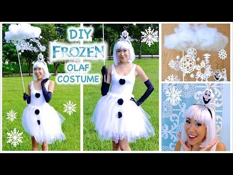 Frozen Costume- Cosplay - YouTube | Karnevalskostüme | Pinterest | Diy olaf costume Olaf costume and Olaf  sc 1 st  Pinterest & OLAF INSPIRED COSTUME! Frozen Costume- Cosplay - YouTube ...
