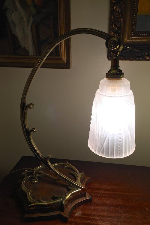 Antiques atlas superb art nouveau desk lamp