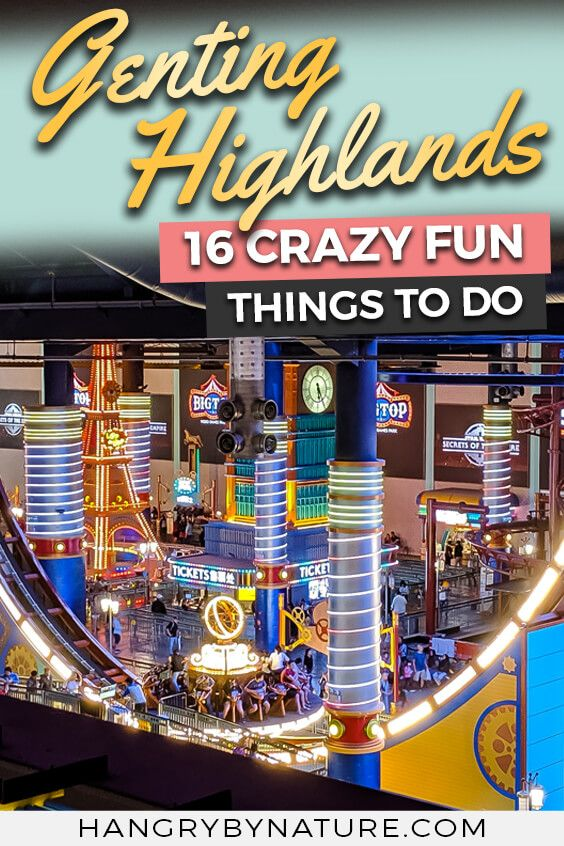 16 Fun Things To Do In Myrtle Beach With Kids: 16 Crazy Fun Things To Do In Genting Highlands Malaysia