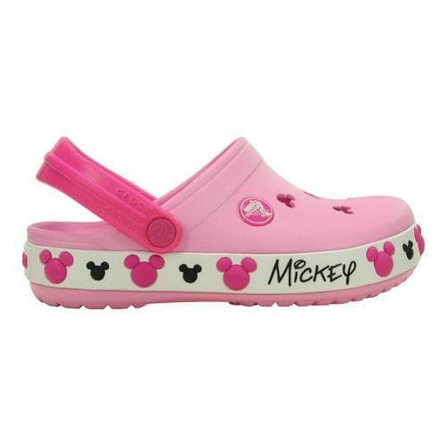 Children's Crocs Crocband Mickey IV Clog Kids Carnation | Overstock.com  Shopping - The Best Deals on Slip-ons
