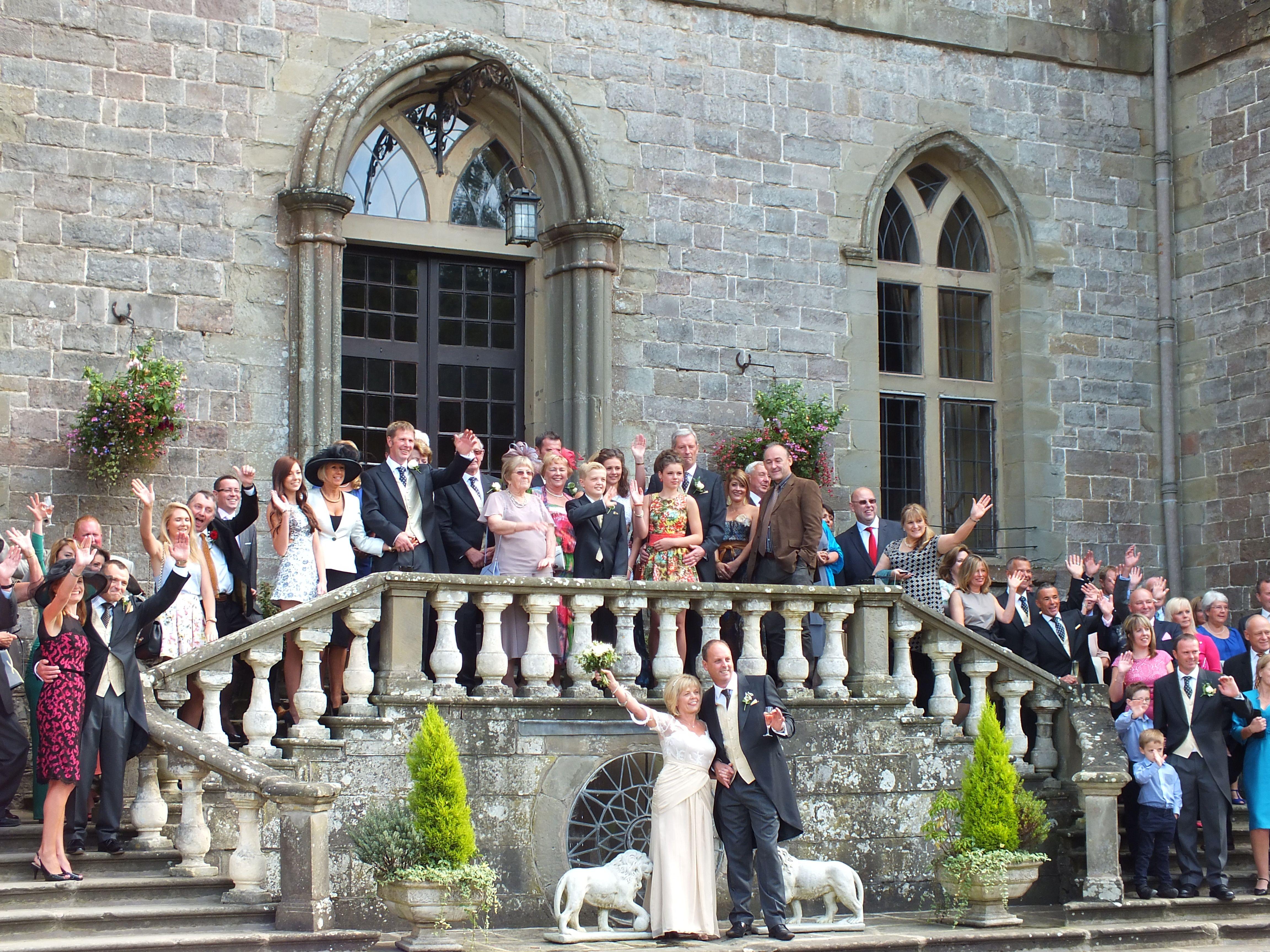 Clearwell Castle Wedding Venue Castle wedding venue