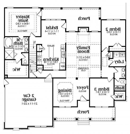 3 Bedroom Addition Floor Plan: Kitchen Additions Floor Plans
