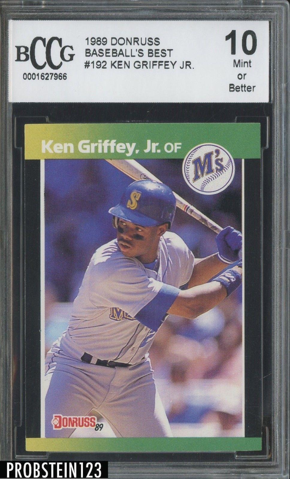 1989 Donruss Baseballs Best 192 Ken Griffey Jr Mariners
