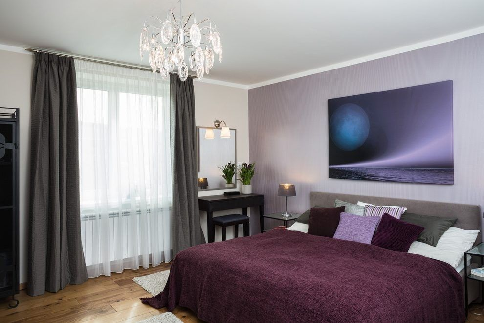 40 amazing contemporary purple bedroom ideas  purple