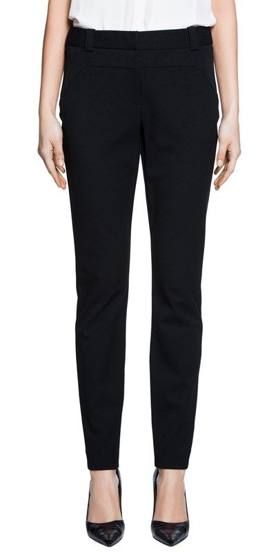 Cue | Skinny Panelled Pant | Fabric from Europe, made in Australia