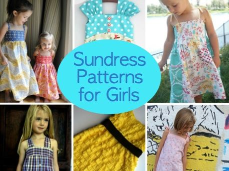 6 Free Sundress Patterns for Girls | Patterns, Girls and Free