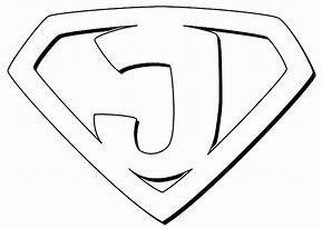 Image result for imagen logo de super hero con letra para