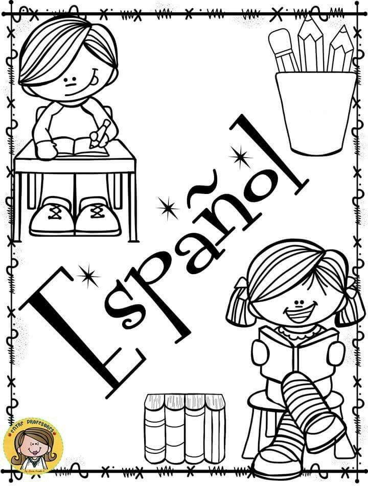 Pin de Natalia Alvarez en dibujos | Caratulas para secundaria ...