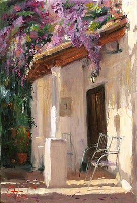 Painting by Russian Artist Oleg Trofimov