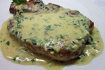 Photo of Cutlets in garlic sauce