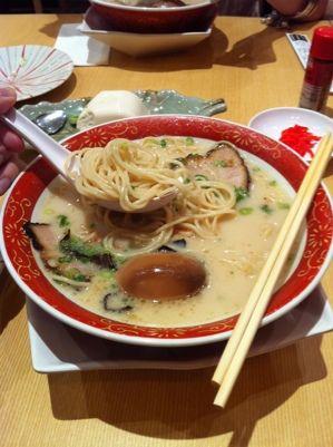 My favorite ramen from Tampopo - the original kyushu ramen