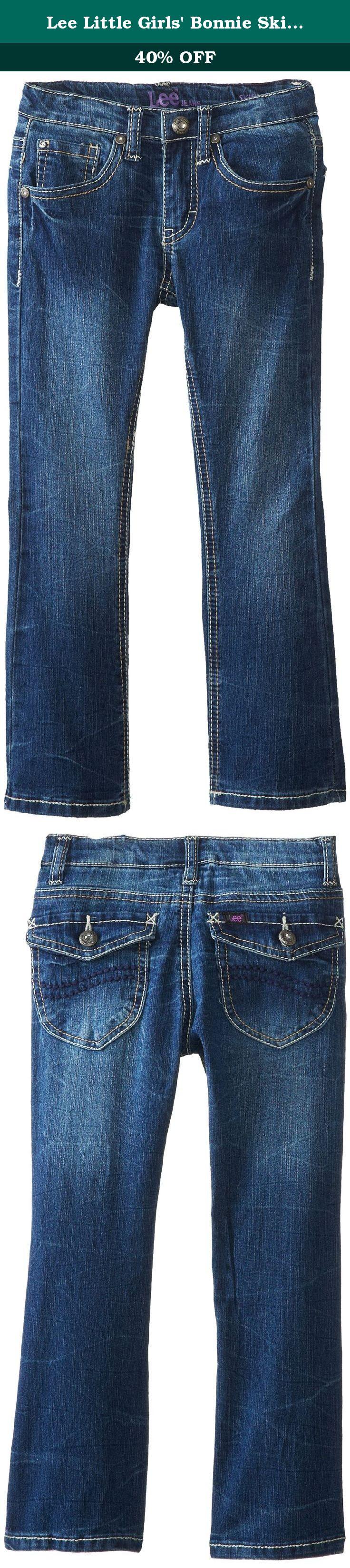 OshKosh BGosh Girls Little Skinny Boot Denim