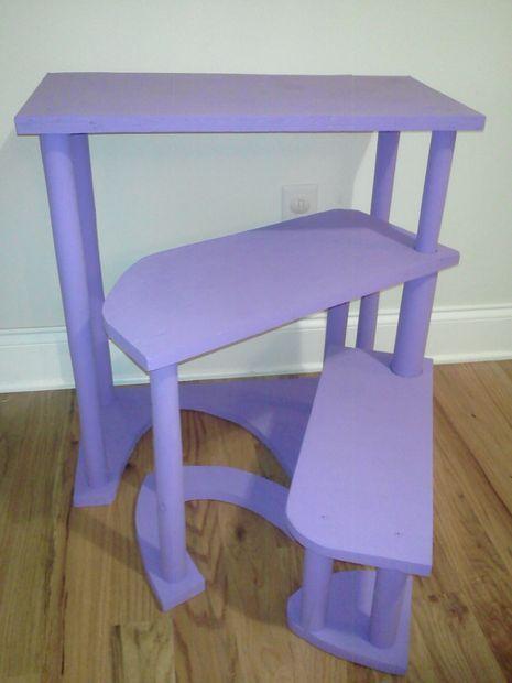 Pleasant Narrow Transformable Spiral Step Stool From Scrap Wood Fun Inzonedesignstudio Interior Chair Design Inzonedesignstudiocom