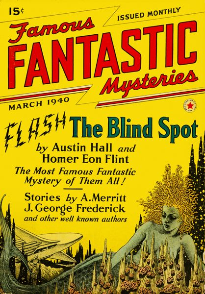 Famous Fantastic Mysteries March 1940
