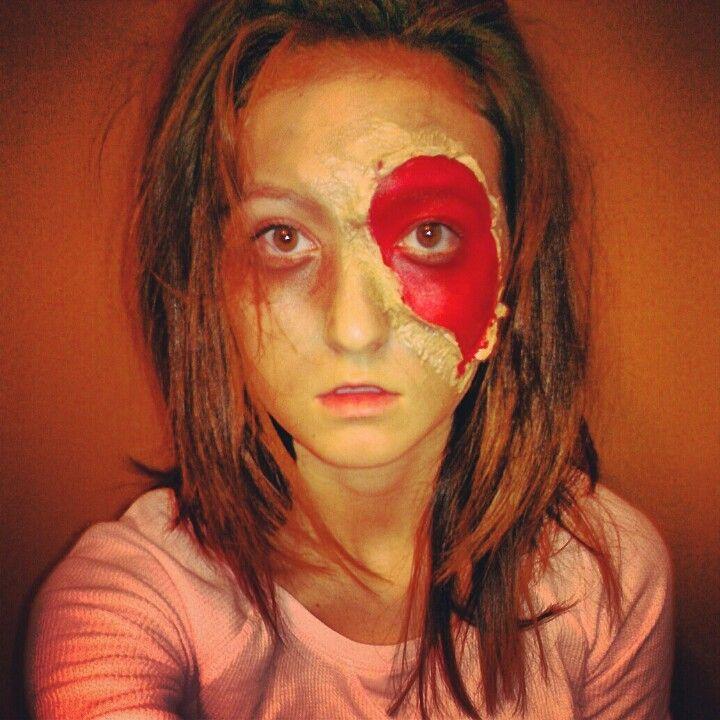 Halloween Makeup Zombie Decay Decaying Skin Costume   Pumpkins ...