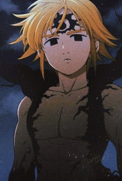 Photo of Meliodas, Nanatsu no tazai.