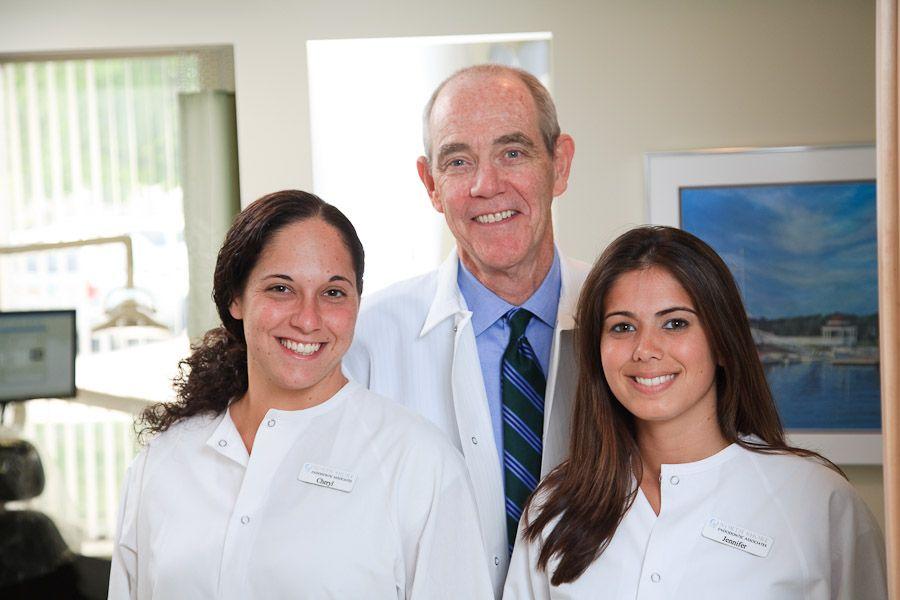 Cheryl (DA), Dr. Peter Morgan & Jen (DA)    (Endodontist, Endodontics, Dentist, Root Canal)