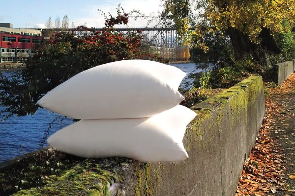 Organic Cotton Amp Kapok Pillows Pillows Bed Company