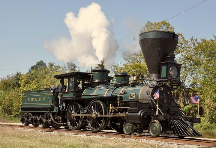 .The 4-4-0 American type is a classic steam locomotive ...