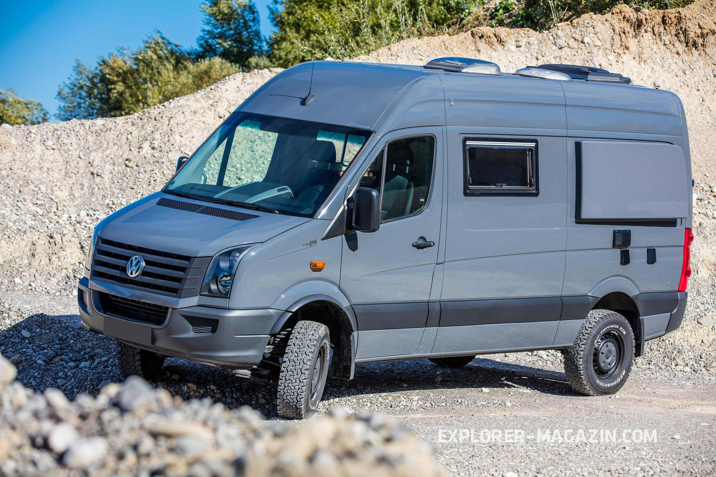 VW Crafter 10motion Vergleich  EXPLORER Magazin  Crafter