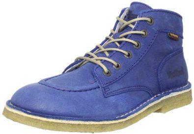 Girl's Kickers KICKLEG94K Boots BLUE 33 M EU, 2 M Kickers. $142.95