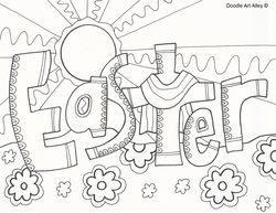 Cool Easter Coloring Pages | Easter | Pinterest | Easter colouring ...