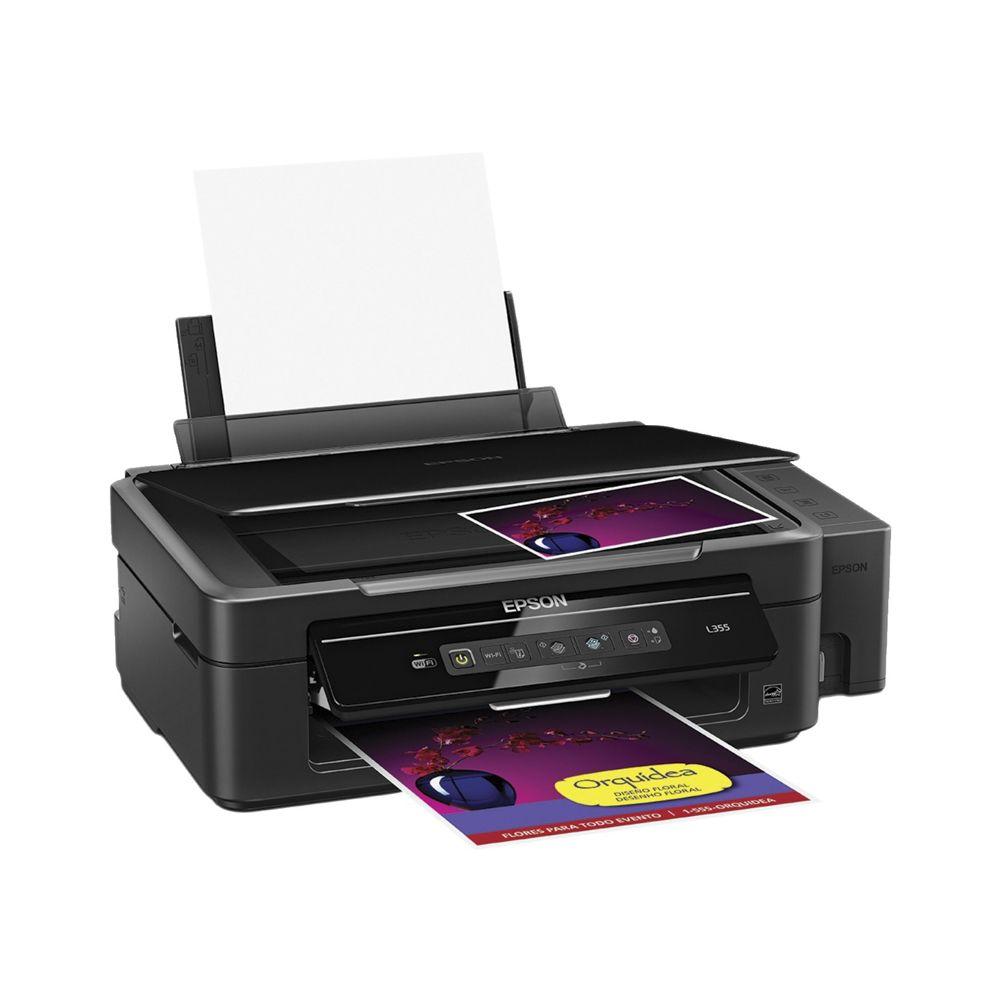 Impresora con sistema continuo de tinta original de EPSON, tendrás ...