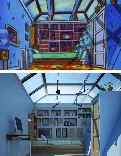 Trauma Room Design: Hey Arnold's Room IN REAL LIFE