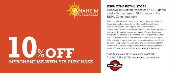 coupons downtown disney anaheim