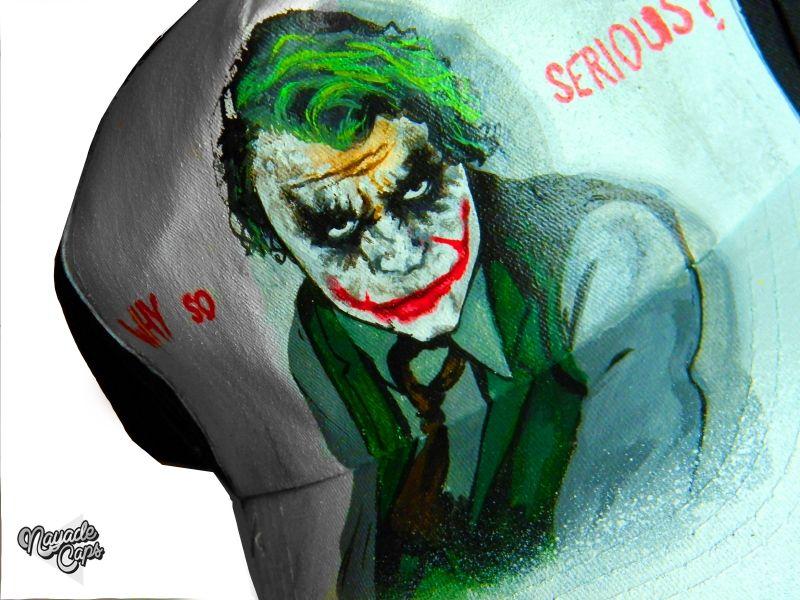 Gorra Joker Why So Serious   16efd68954b