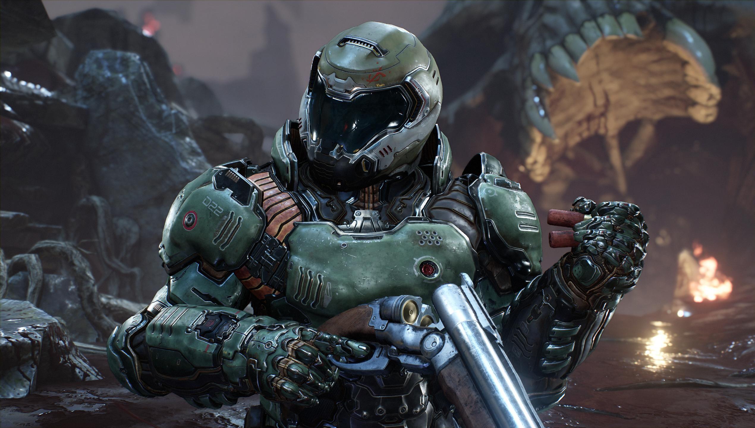 DOOM QuakeCon 2016 Wallpaper | GAMING | Doom movie, Doom