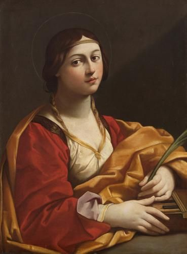 Guido Reni. Santa Cecilia, 1610. WikiPaintings.org