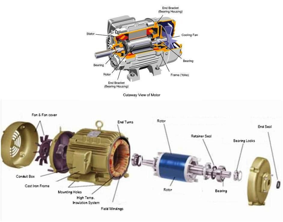 Wire Electric Motor Diagram Motor Repalcement Parts And Diagram