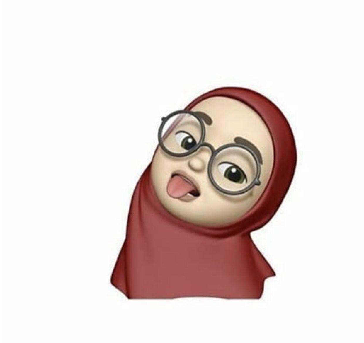 Emoji Hijab Dengan Gambar