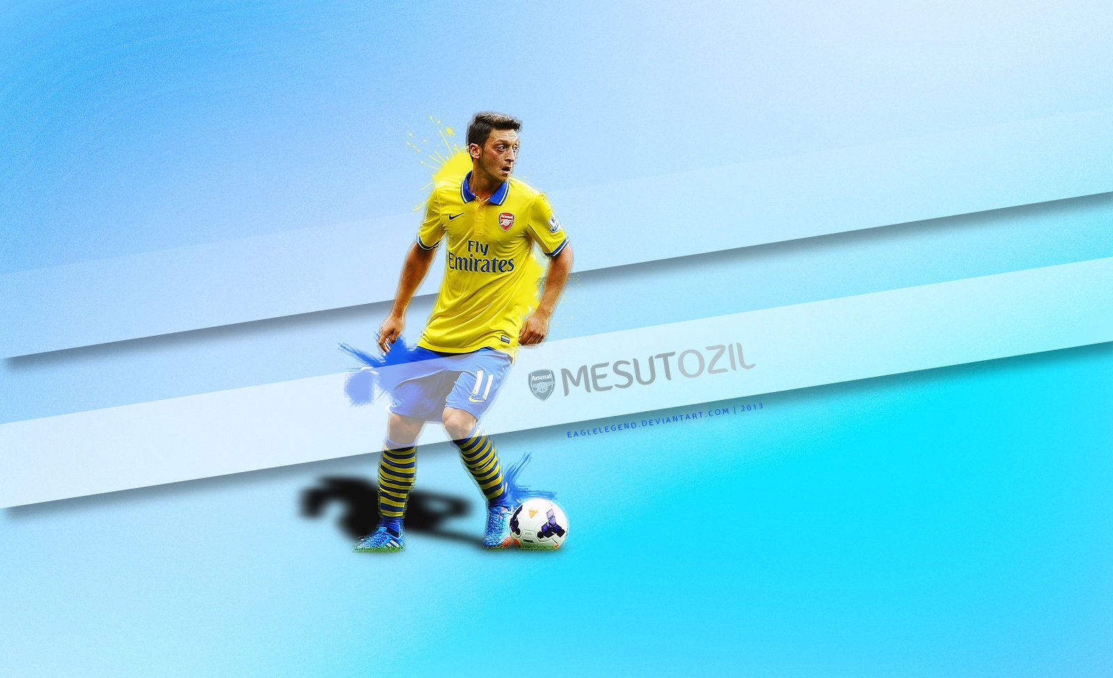 Mesut Ozil Wallpaper By Eaglelegend.deviantart.com On