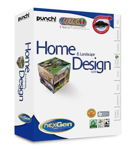 Punch! Home & Landscape Design Suite With NexGen