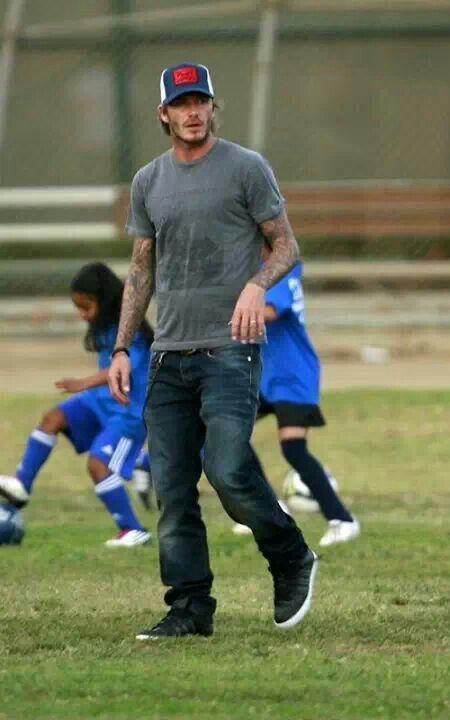 David Beckham Slouch Beanie