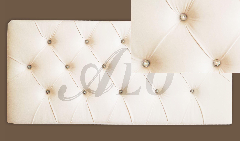DIY: CRYSTAL TUFTED HEADBOARD - ALOWORLD | tapiceria | Pinterest ...