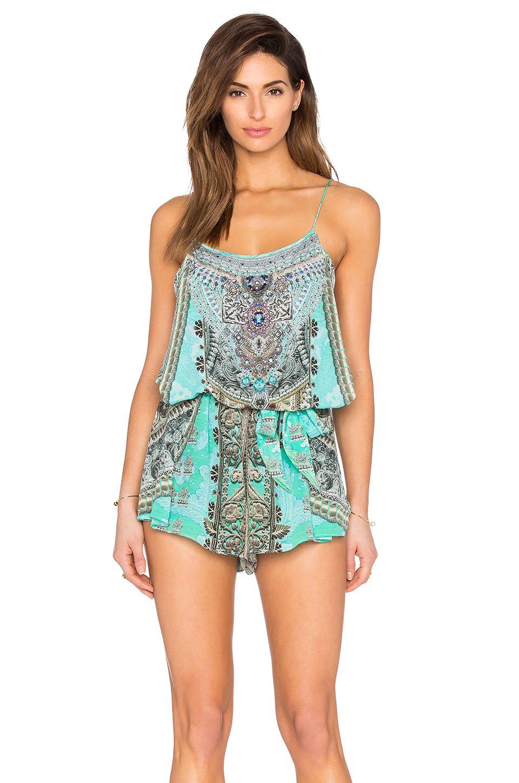 1dd8d01a84f CAMILLA SHOESTRING STRAP PLAYSUIT.  camilla  cloth  dress  top  shirt  pant