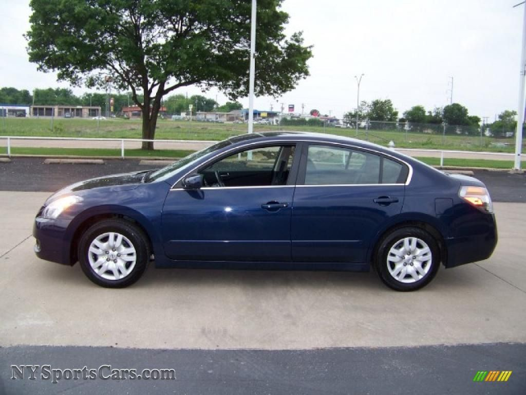 Blue Nissan Altima 2006 2009 2 5 S Navy Metallic Charcoal Photo 1