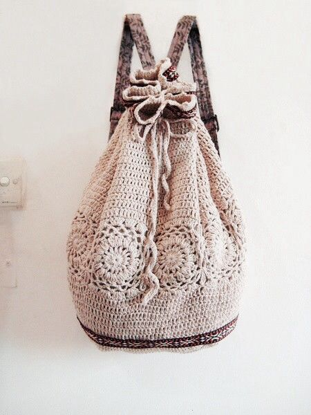 Crochet School Bag Jewelry Bags Thangs Crochet Purses
