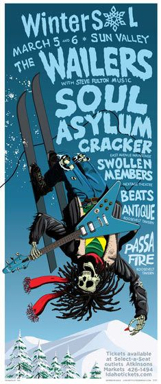 GigPosters.com - Wailers, The - Sfm Steve Fulton Music - Soul Asylum - Cracker - Swollen Members - Beats Antique - Passafire