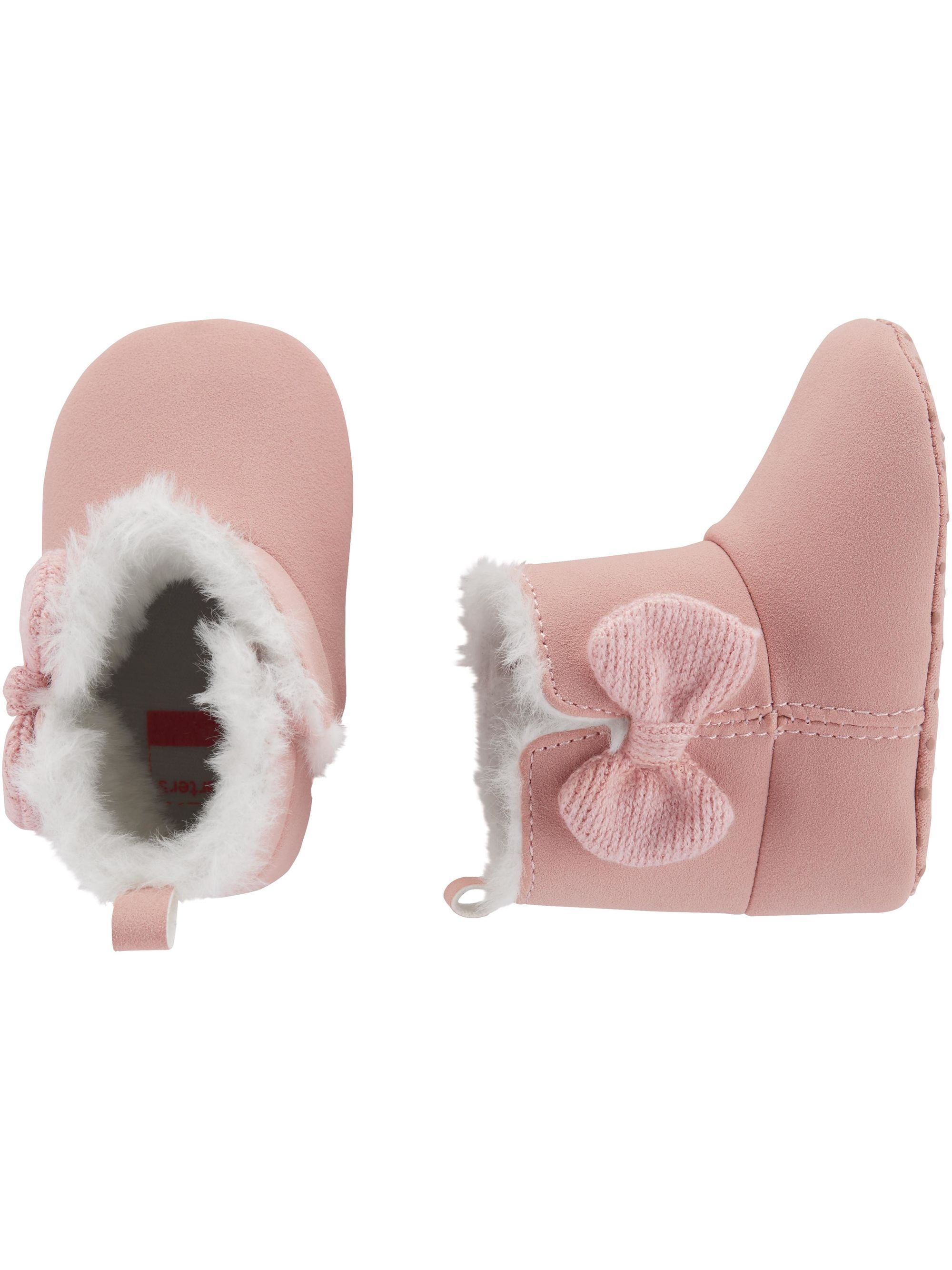 943b06e88 Bow Boots Baby Shoes