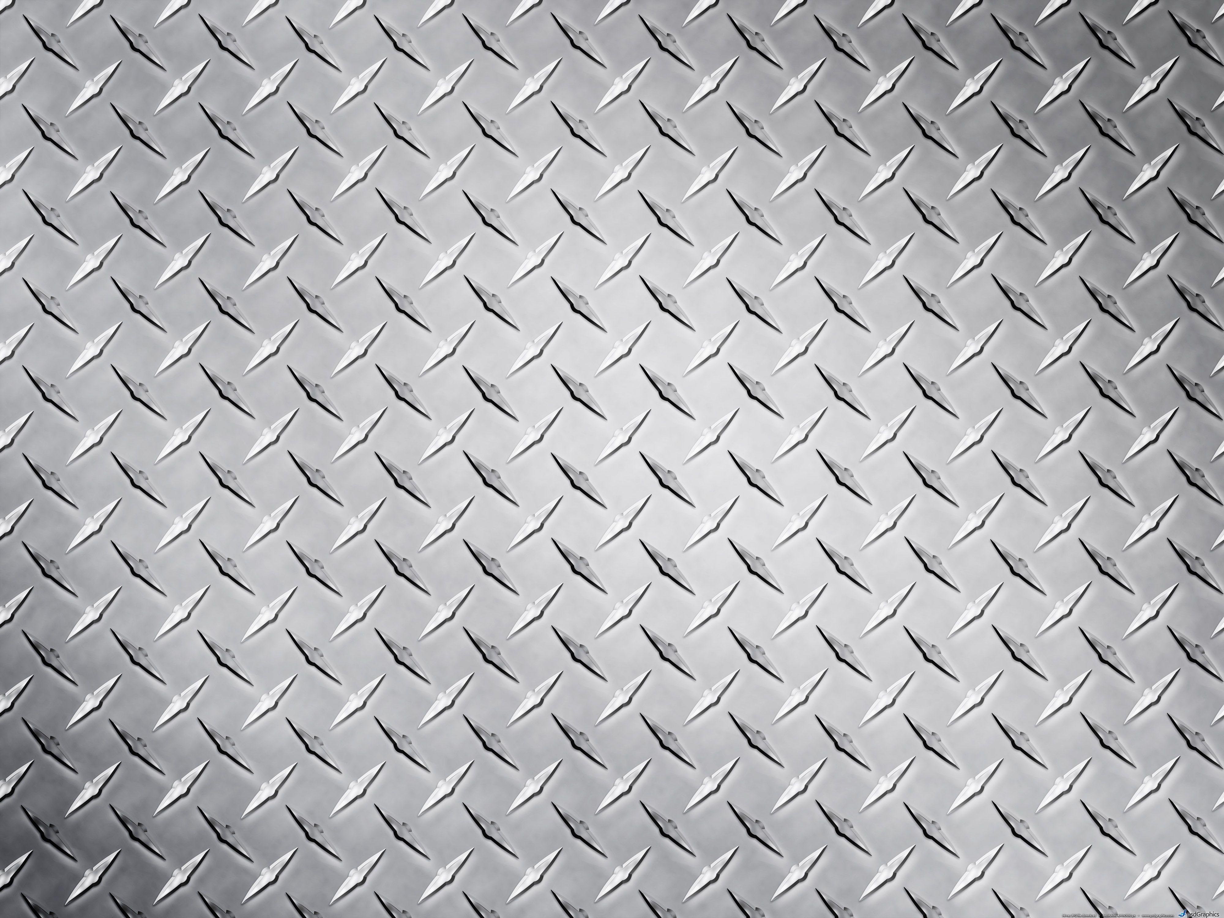 Metal Texture Metal Texture Diamond Plate Silver Wallpaper
