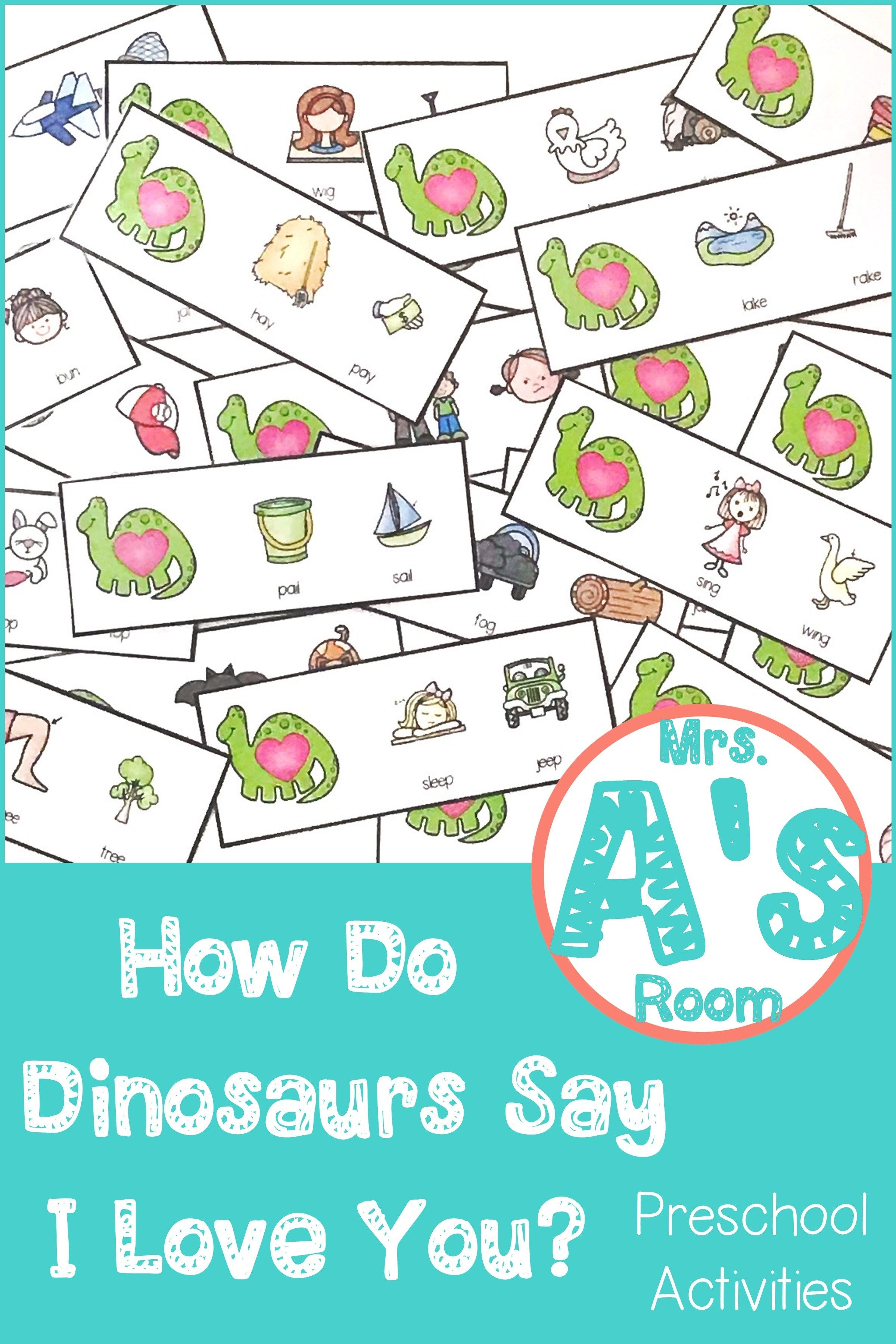 How Do Dinosaurs Say I Love You Part 1