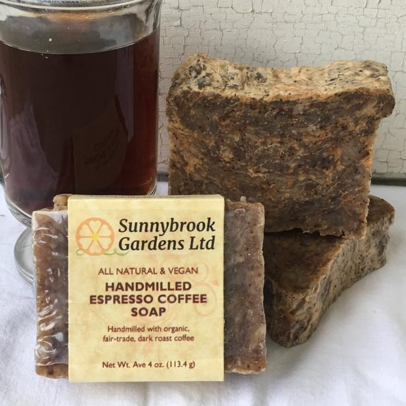 Hand-milled Espresso Coffee Soap