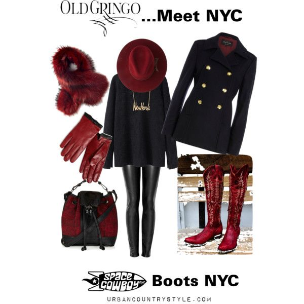 """""""Old Gringo...Meet NYC"""" by suziesalmon on Polyvore"""