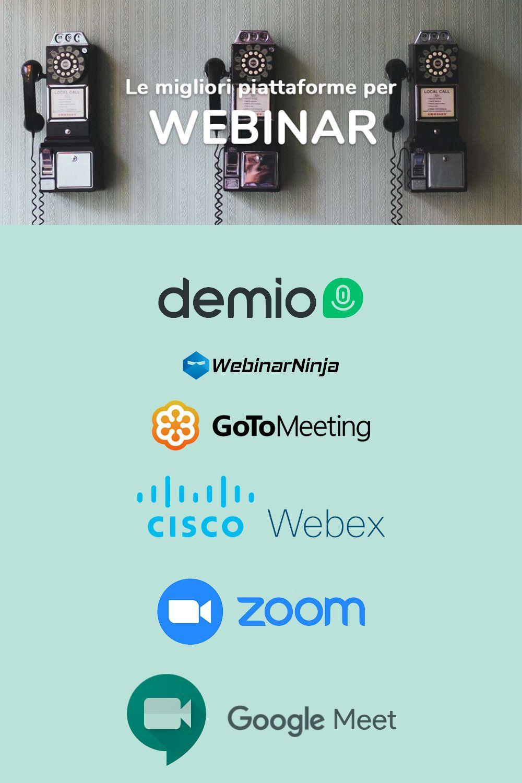 Le migliori piattaforme webinar del 2020 nel 2020