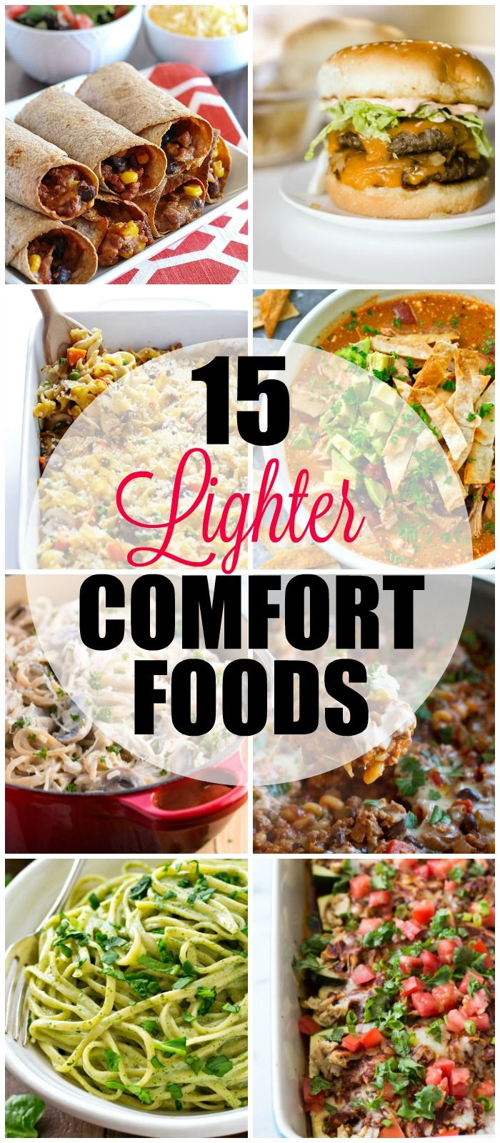 Check out these 15 light healthy comfort food recipes enjoy check out these 15 light healthy comfort food recipes enjoy comfort foods guilt free with these lighter takes on classic recipes pinterest forumfinder Gallery