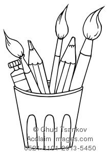 Painting Coloring Pages